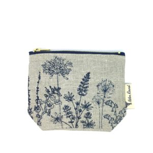 Helen Round Makeup Bag Garden Natural